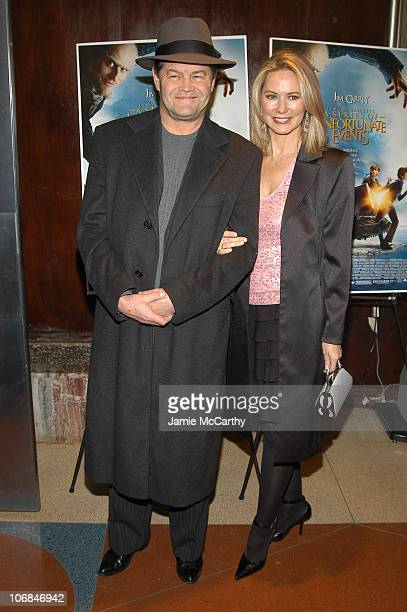 Micky Dolenz and wife Donna Quinter during Lemony Snicket's A Series of Unfortunate Events Special Screening for Literacy Partner at Clearview...