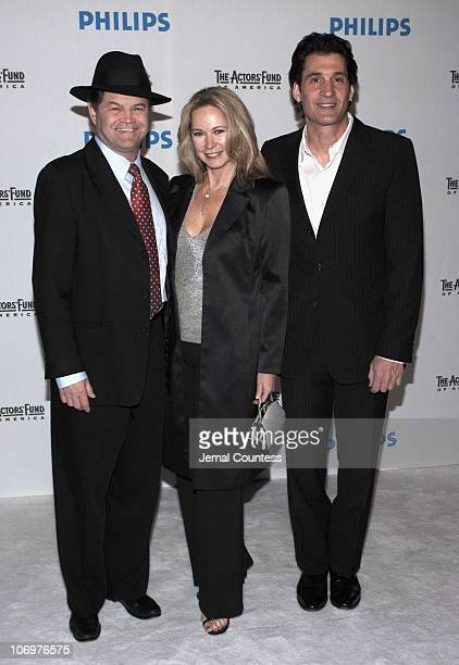 Micky Dolenz Donna Quinter and Robert Funaro during The Actors' Fund of America and Philips Electronics presents Simplicity A Look At The Future at...
