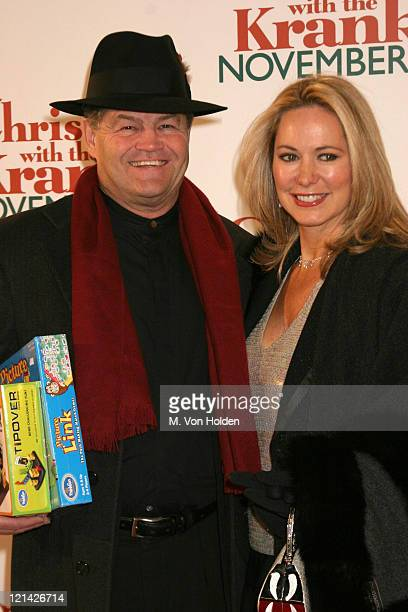 Micky Dolenz Donna Quinter during Columbia Pictures premiere of Christmas with the Kranks at Radio City Music Hall in New York New York United States