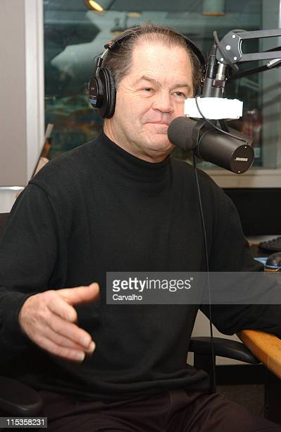 Micky Dolenz during Palm West Delivers Breakfast to CBS FM's Micky Dolenz on Micky Dolenz in the Morning at CBS FM Studios in New York City New York...