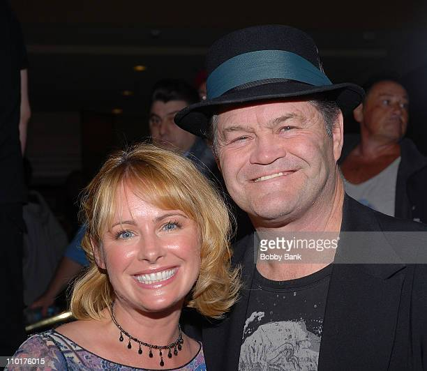 Micky Dolenz of The Monkees and his daughter Ami Dolenz appear at the 2008 Chiller Theatre Spring Extravaganza at the Parsippany Hilton on May 2 2008...