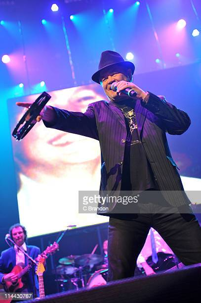 Micky Dolenz of The Monkees performs on stage at Royal Albert Hall on May 19 2011 in London United Kingdom