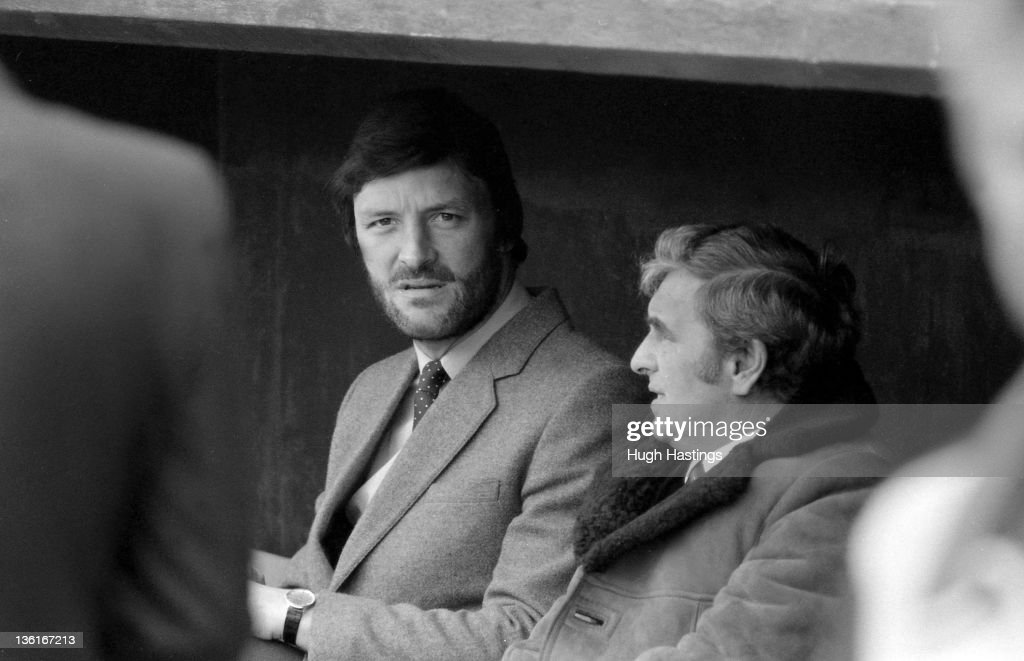 Micky Droy of Chelsea in the Chelsea dug-out during the Division 2 match between Crystal Palace and Chelsea at Selhurst Park on April 12,1982 in London,England. Chelsea won the match 1-0.