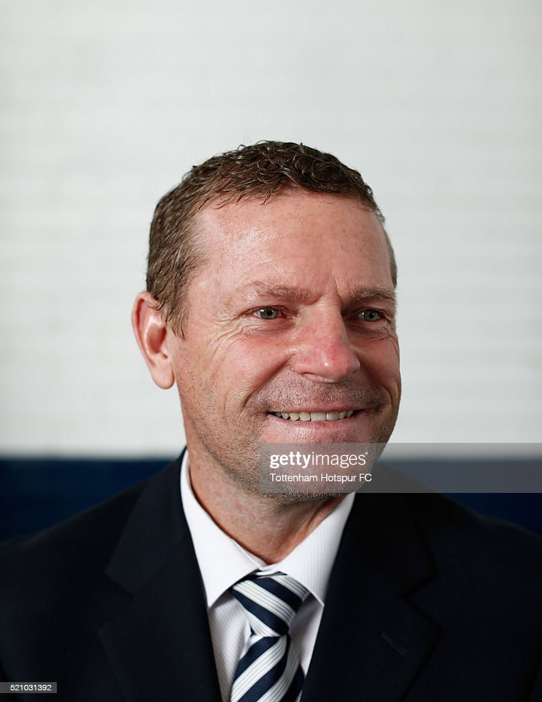 Micky Hazard poses at White Hart Lane on August 29, 2015 in London, England.