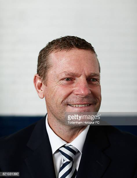 Micky Hazard poses at White Hart Lane on August 29 2015 in London England
