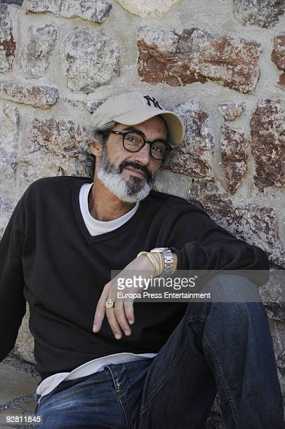 Micky Molina poses during a portrait session on November 4 2009 in Madrid Spain