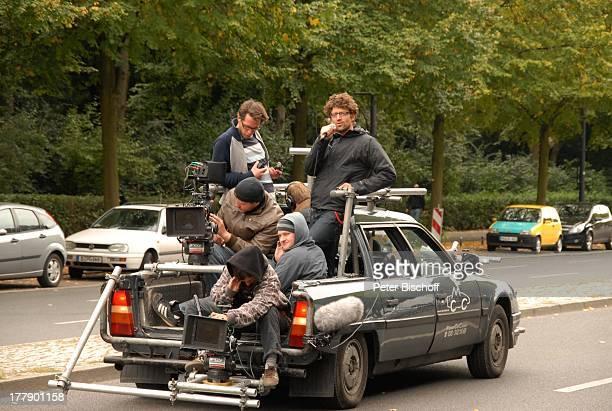 Micky Sülzer Daniel Warwick KameraTeam Dreharbeiten zum InternetMusikVideo für AutoLeasingKampagne mit J o h a n n e s H e e s t e r s und G i n a L...