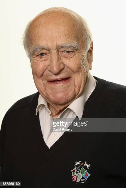 Micky SteeleBodger CBE Preseident of the Barbarians poses for a portrait at the Hilton Park Lane Hotel on May 24 2017 in London England