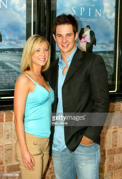 Micol Merriman and Ryan Merriman during 'Spin' Premiere to Benefit the James Redford Institute in Provo Utah United States