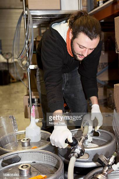 Micro brewery, production process
