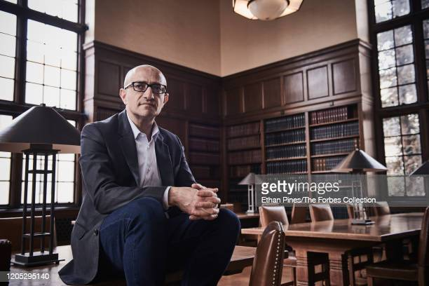 Microbiologist Sarkis Mazmanian is photographed for Forbes Magazine on November 19 2019 in one of his labs in Pasadena California PUBLISHED IMAGE...