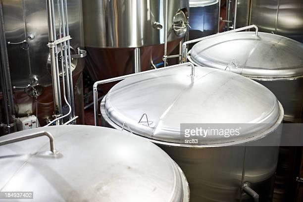 Micro-brewery vats