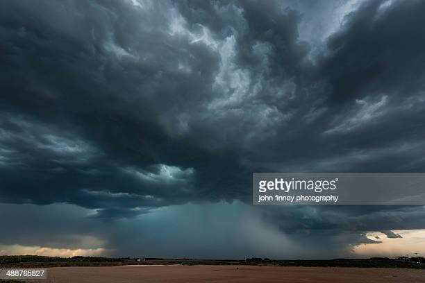 micro-burst storm, oklahoma, tornado alley - storm cloud stock pictures, royalty-free photos & images