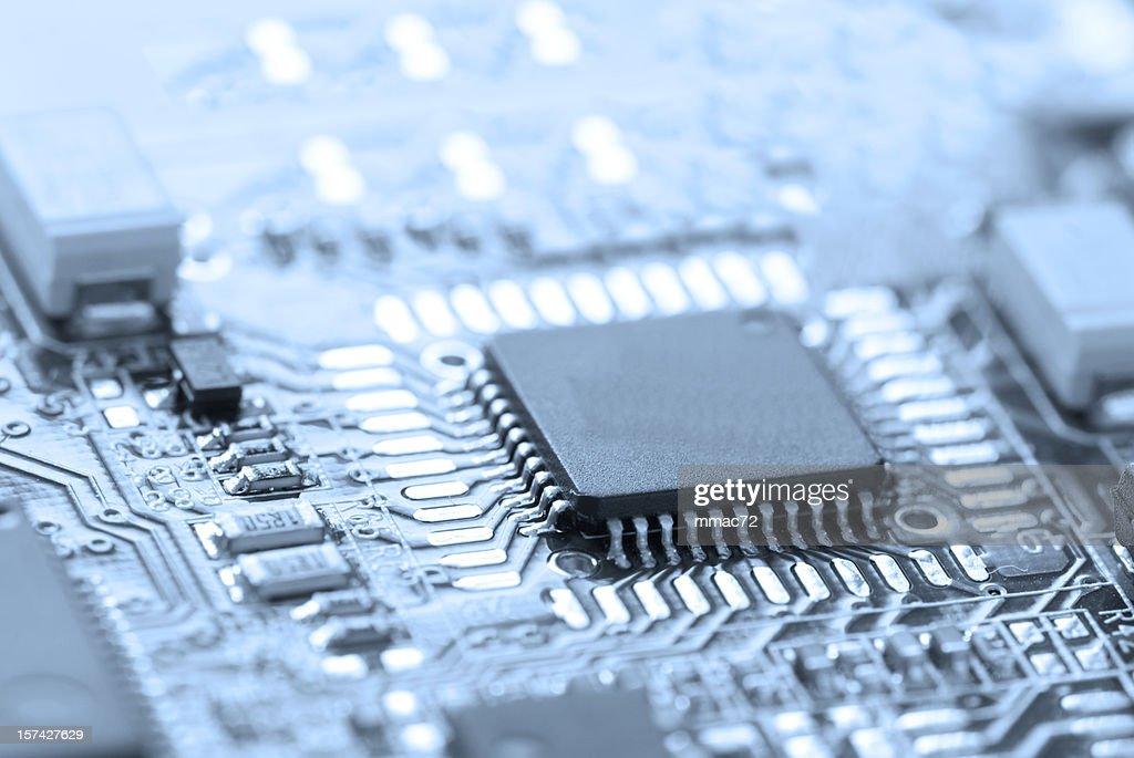 Microchip : Stock Photo