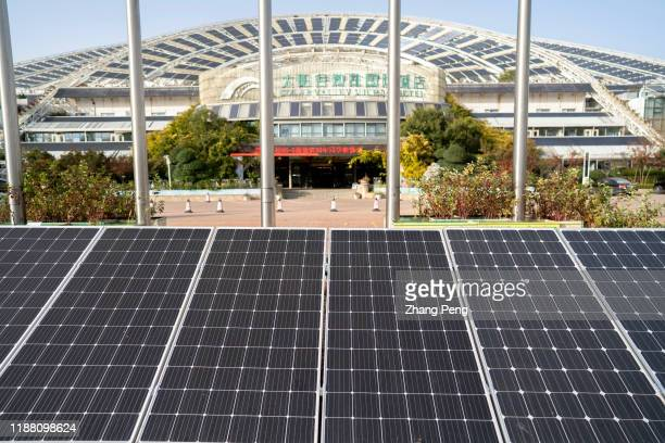 Micro-E hotel, a solar theme hotel with large area of solar collectors on the roof. Located at China Sun Valley in the Dezhou development zone, it...