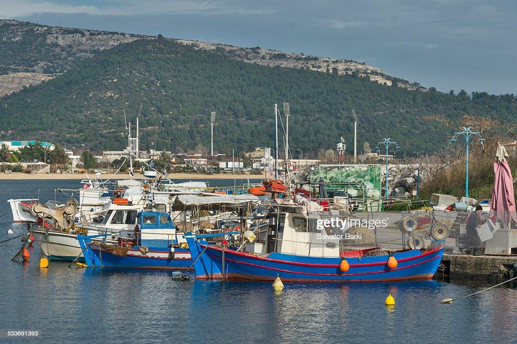 Microlimani, Kavala : Foto stock
