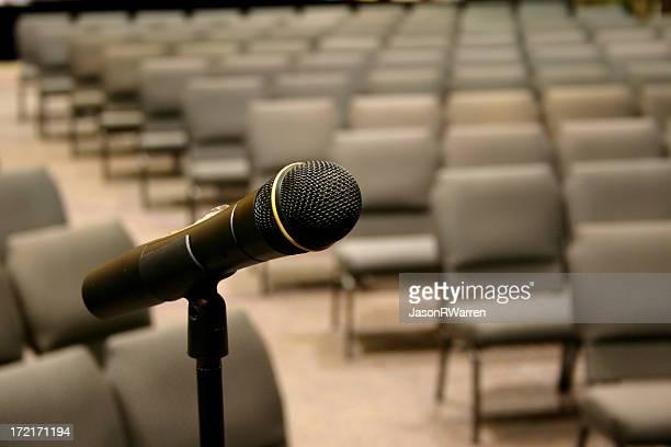 Microphone, Empty Seats