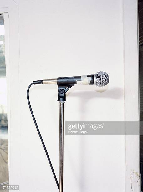 Microphone in a stand