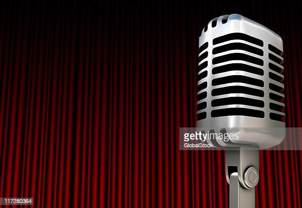 Micrófono en una fase