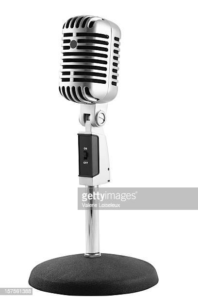 microphone - microphone stand stock photos and pictures