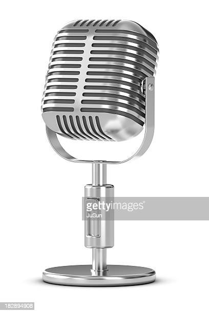 microphone - radio stock pictures, royalty-free photos & images