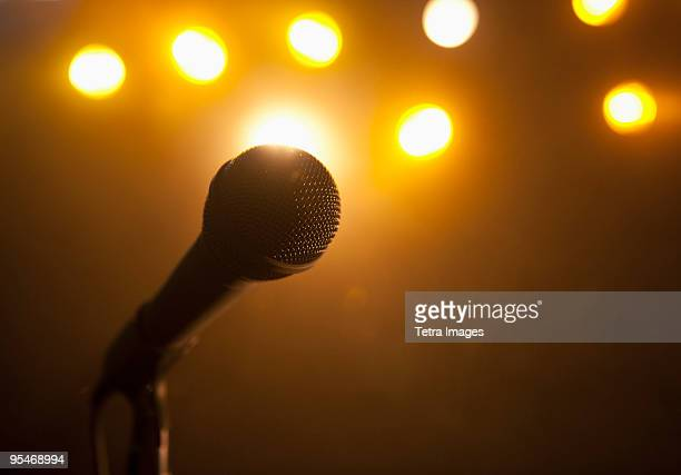 microphone - karaoke stock pictures, royalty-free photos & images