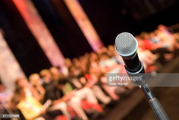 Microphone-intervention publique