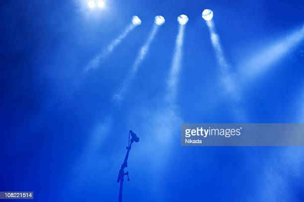 microphone stand - smoke physical structure stock pictures, royalty-free photos & images