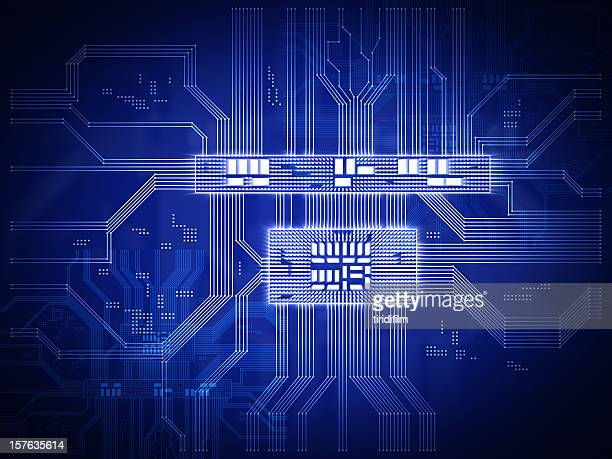 Mikroprozessor Circuit