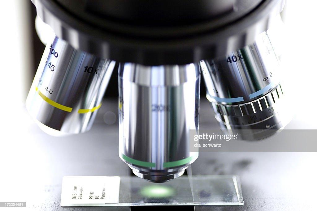 Microscope : Stock Photo