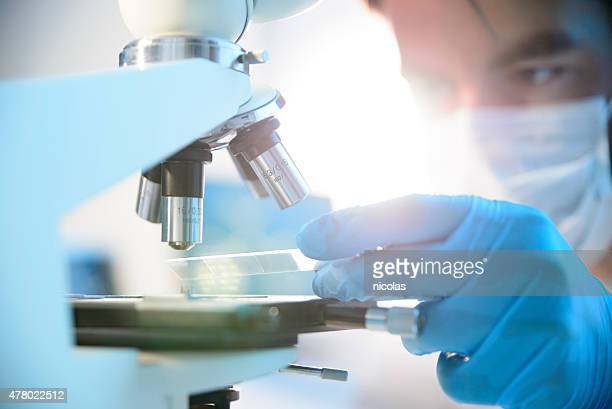 microscope - pandemic illness stock pictures, royalty-free photos & images