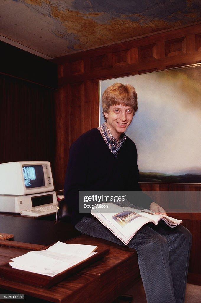 Microsoft CEO Bill Gates : News Photo