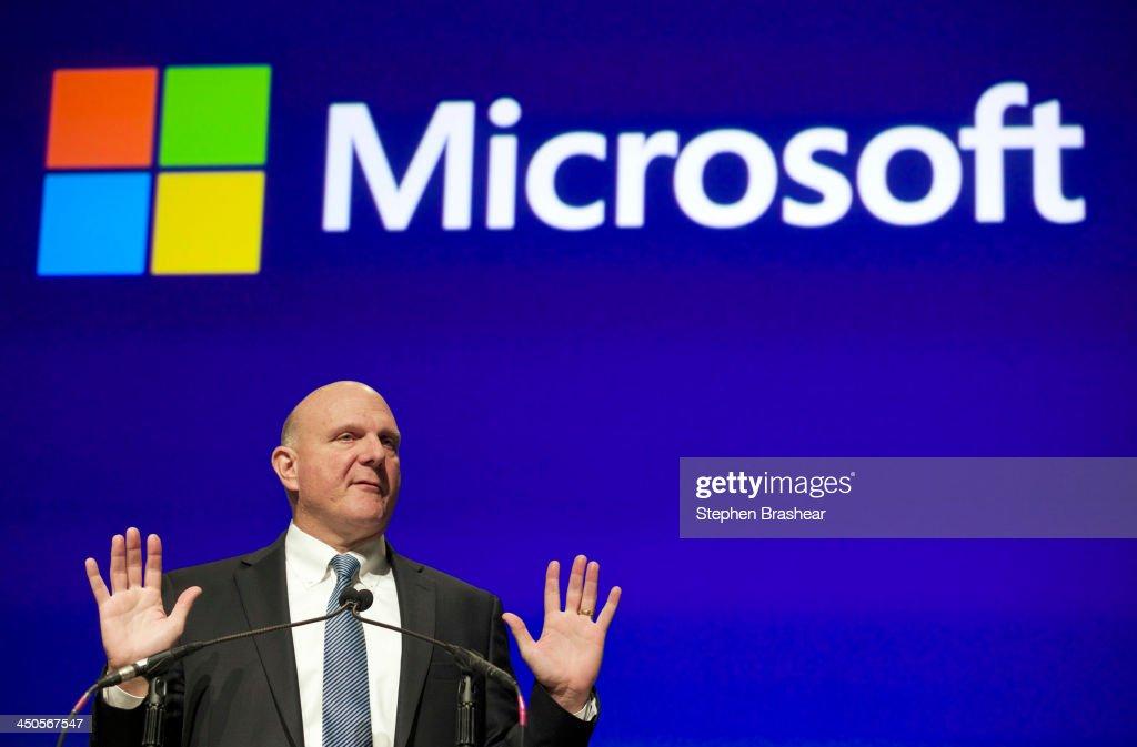 Microsoft Holds Annual Meeting : News Photo