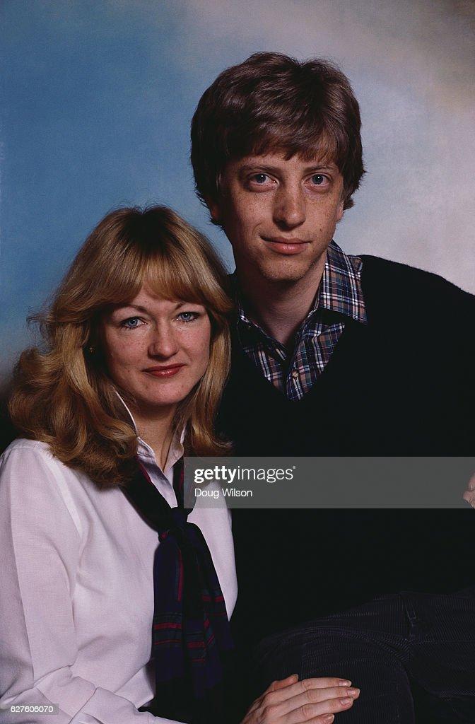 Bill Gates and Jill Bonnett : News Photo