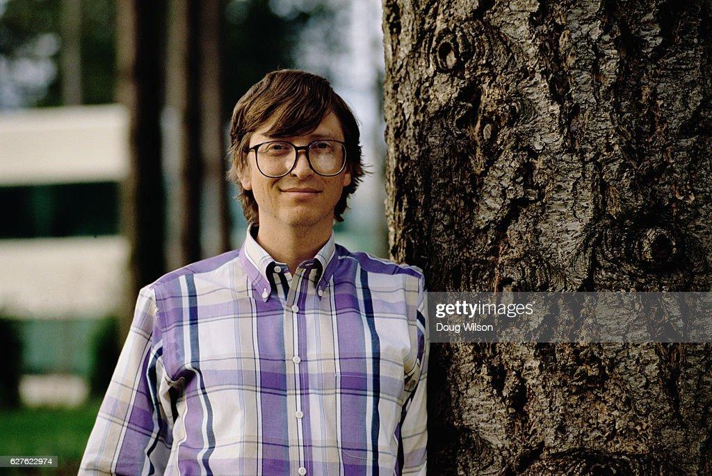 Microsoft Co-founder Bill Gates : News Photo