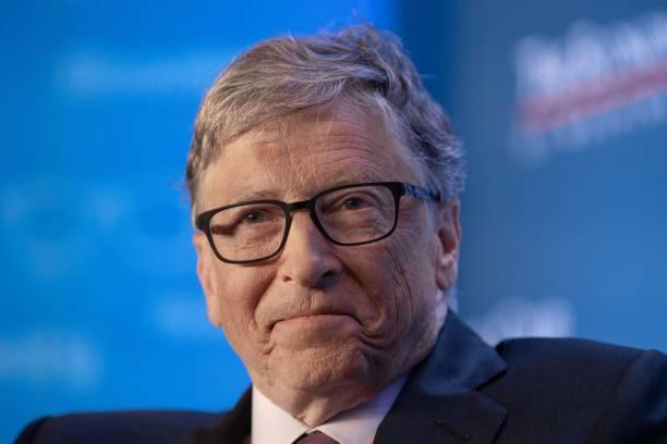 DC: Bill Gates Speaks At The Economic Club Of Washington DC