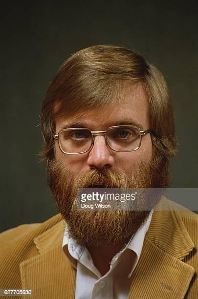 Microsoft CoFounder Paul Allen poses for a portrait in 1984