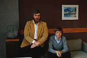 Microsoft cofounders bill gates and paul allen pose for a portrait in picture id627606060?s=170x170