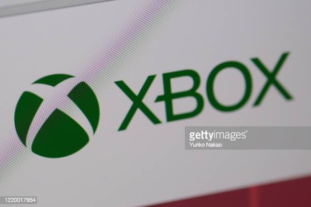 Microsoft Corp.'s X-box logo is pictured on a computer screen on April 20, 2020 in Katwijk, Netherlands.