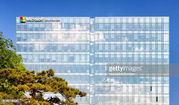 Microsoft modern office building in Seoul South Korea