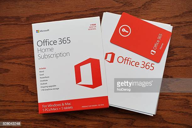 microsoft office 365 subscription software package - single word stock pictures, royalty-free photos & images