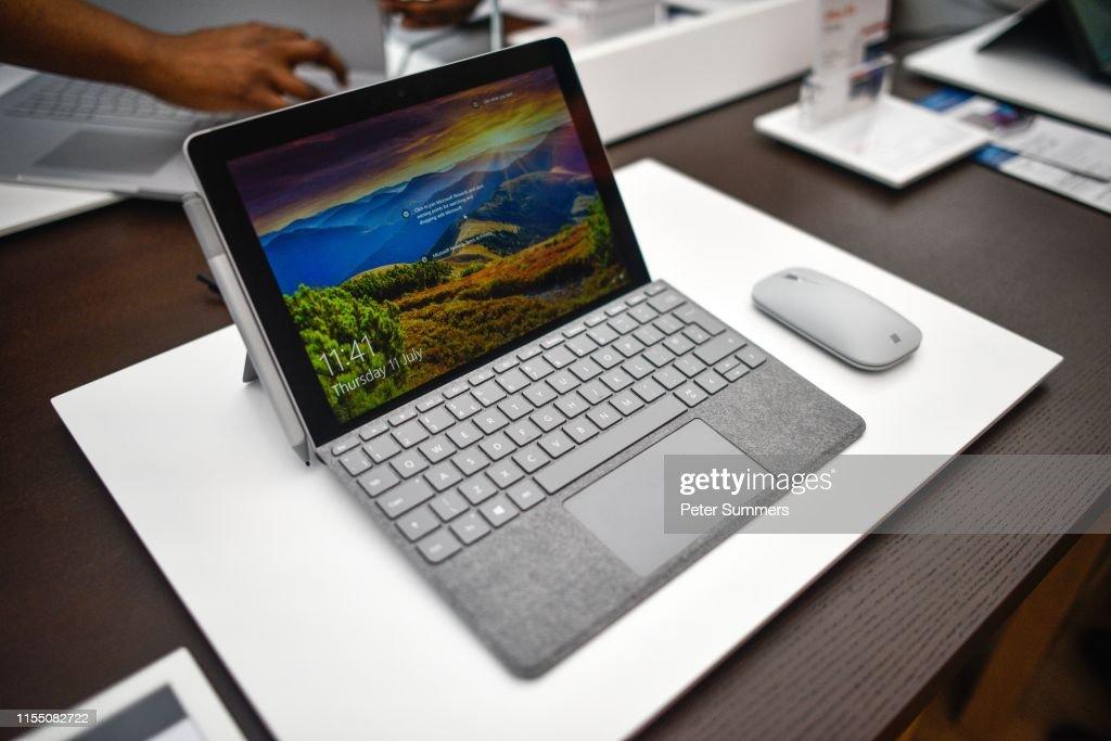 Microsoft Launch Flagship London Store : News Photo