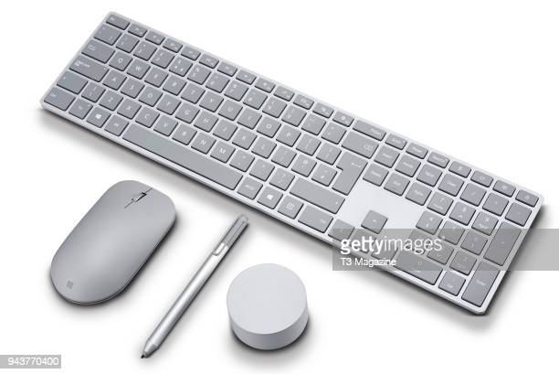 A Microsoft Surface Dial Pen Keyboard and Mouse taken on August 4 2017
