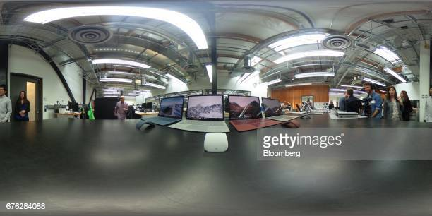 Image was created as an Equirectangular Panorama. Import image into a panoramic player to create an interactive 360 degree view.) Microsoft Surface...