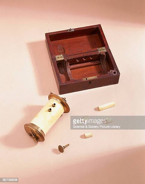 A microtome is used for cutting thin slices of specimen for microscopic investigation Alexander Cumming a clockmaker to George III invented and made...