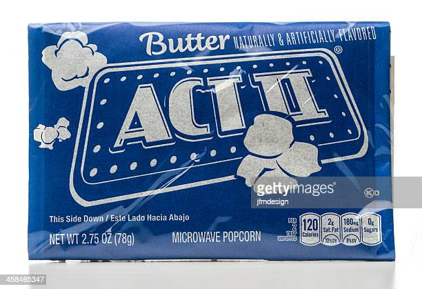 ACT II microwave butter popcorn package