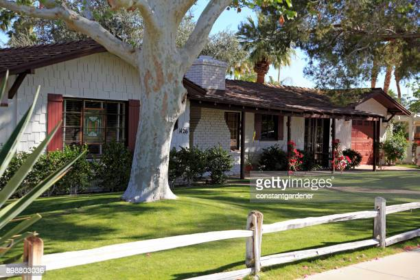 Mid 20th Century California Shingle Bungalow
