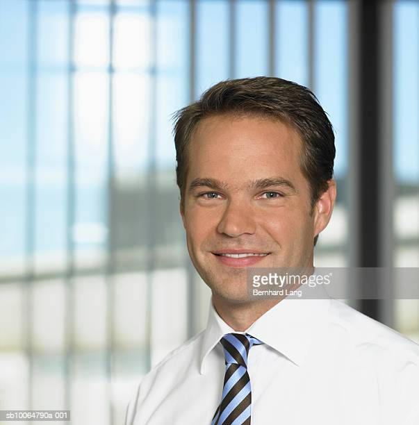 Mid adult businessman in office, portrait