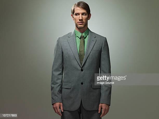 Milieu adulte Homme d'affaires, portrait