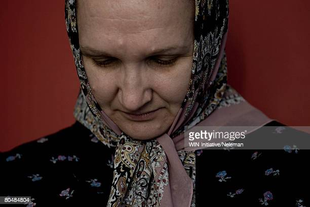 mid adult woman contemplating, close-up - former soviet union stock pictures, royalty-free photos & images